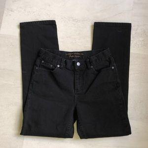 Petite Ralph Lauren Black Jeans